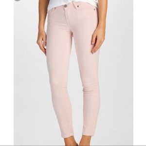 Paige Light Pink Ankle Jeans size 31 NWT